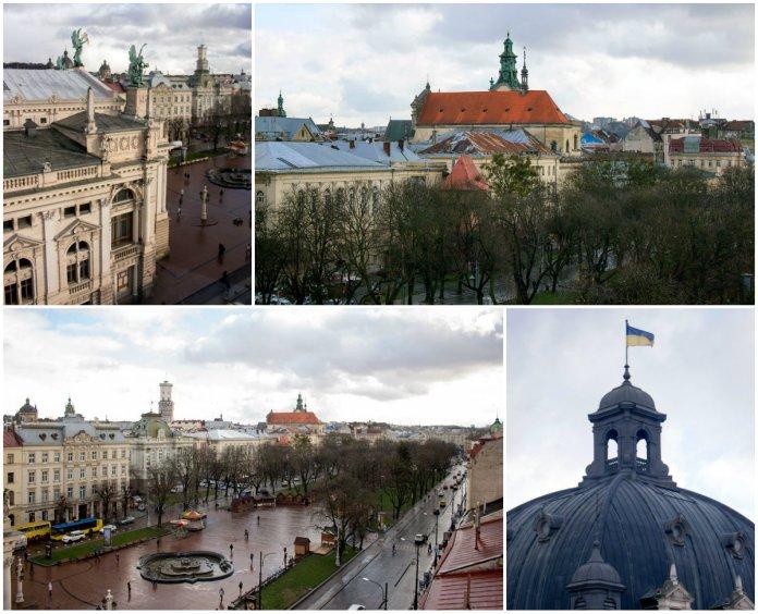 12 фотографій Львова з ресторану готелю
