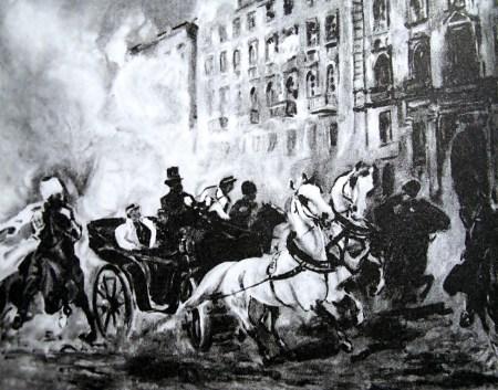 Замах на Берга, 1863рік