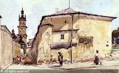Тадеуш Рибковський. Старий арсенал у Львові, 1905 рік