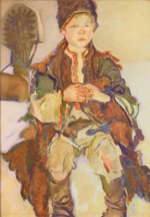 Казимир Сіхульський. Гуцульський хлопчик, 1913 рік