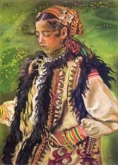 Казимир Сіхульський. Гуцулка, 1906 рік