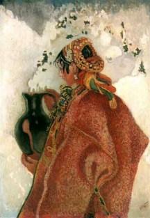 Казимир Сіхульський. З Йордану, 1918 рік