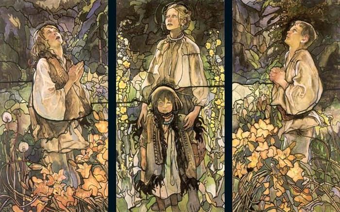 Казимир Сіхульський. Триптих «Весна», 1909 рік