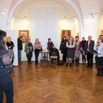 Відкриття виставки Галини Різничук «Мистецтво, що сяє золотом»