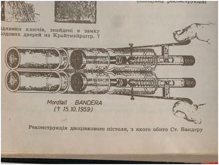 Пристрій, з допомогою якого вбивав Сташинський