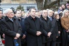 Відкриття пам'ятника о.Михайлу Вербицькому у Львові, 27 грудня 2015 року