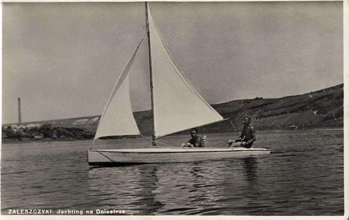 Заліщики, яхтинг на Дністрі. Середина 30-их років ХХ століття