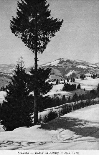 Славське. Фото з книги Антонія Осендовського «Karpaty i Podkarpacie». Познань, 1939