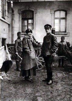 Польова кухня в школі ім. Г. Сенкевича, листопад 1918 р.