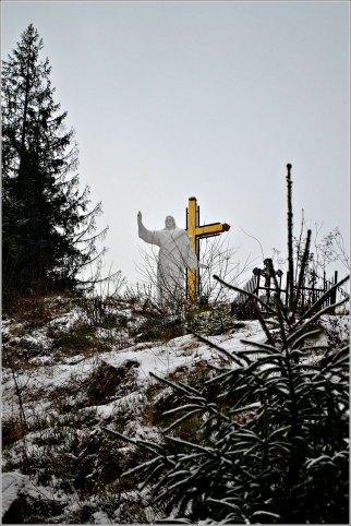 Гора Голиця, на якій колись розташовувалася стара церква – сучасний цвинтар. Фото Тетяна Жернова 2016 р