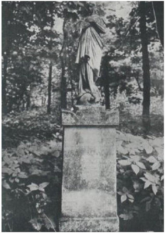 Надгробок на могилі Адольфа Германа на Стрийському кладовищі. Фото до 1911 року