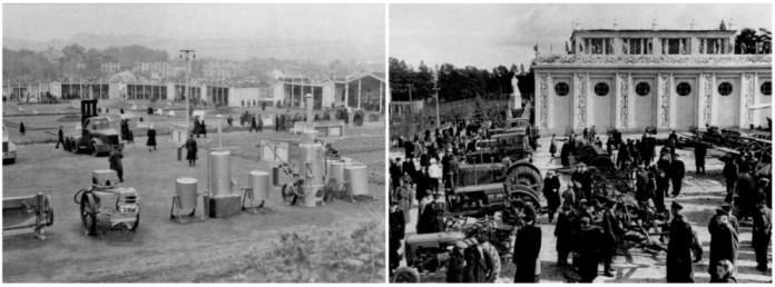 С/г виставка в новозбудованому Парку культури. Фото 1950-х рр.