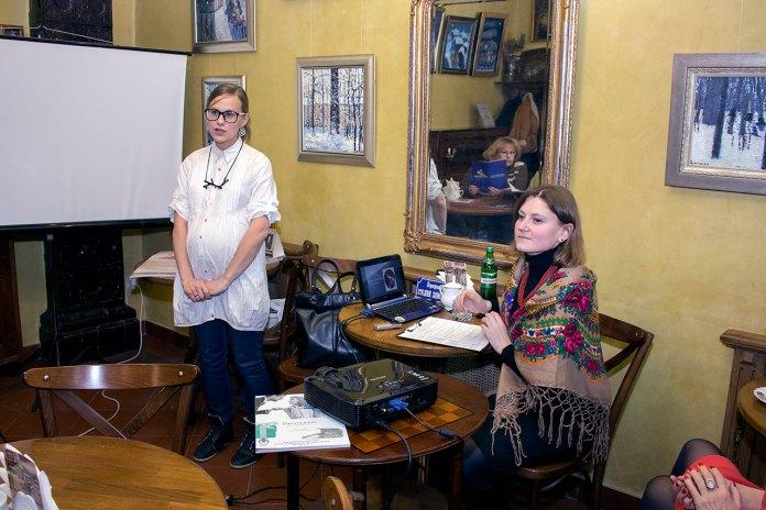 Історія Катерини Грушевської в кав'ярні-галереї «Штука»