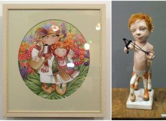 Виставка ляльок та живопису «Ми родом з дитинства»