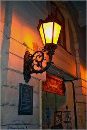 Ліхтарі в центральній частині міста. Фото Тетяна Жернова 2016 рік