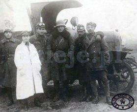 Лікарняний віз редуту школи ім. Г. Сенкевича, листопада 1918 р.