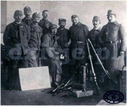 Зброярня школи ім. Г. Сенкевича, листопад 1918 р.