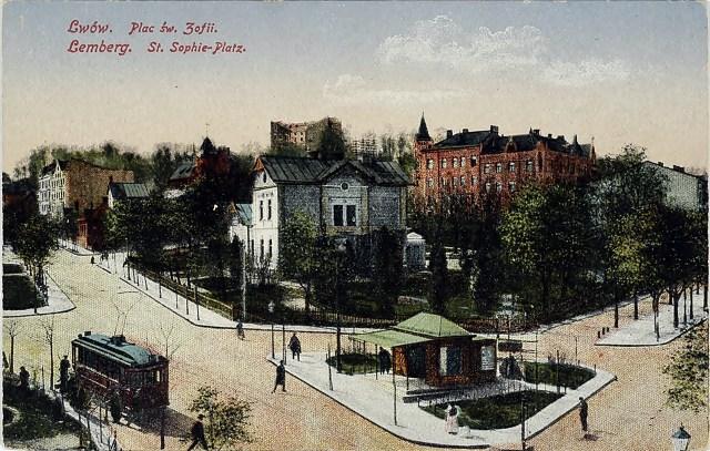 Площа Св.Софії, 1915 рік