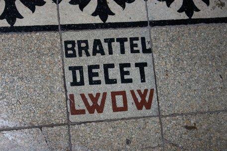 """Фірмова кахлина """"Brattel Deсet Lwow"""", 2016 рік"""