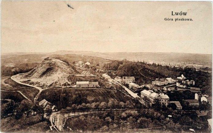 Гора Лева на Кайзервальді, фото початку XX ст.