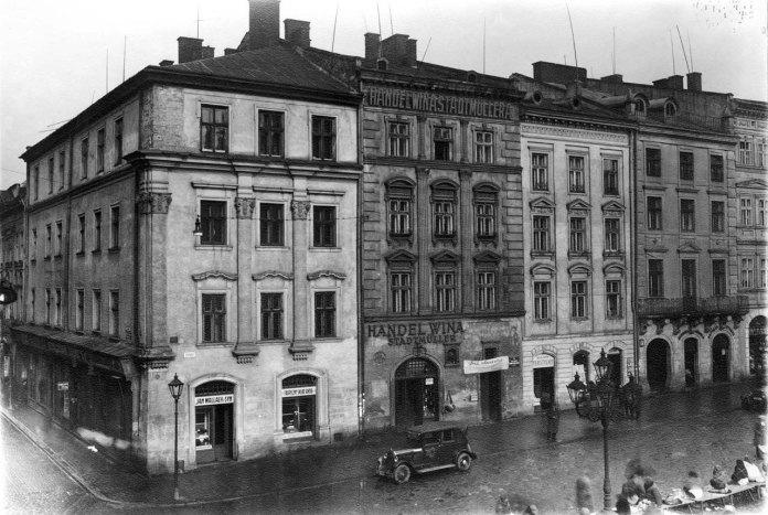 Львів, будинок винарні Штадтмюллерів на площі Ринок, 34