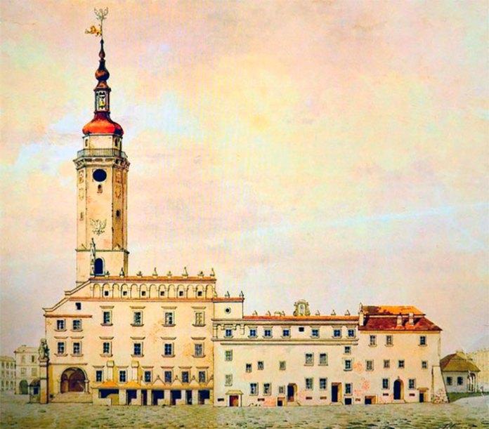 Львівська ренесансна ратуша 1619 року