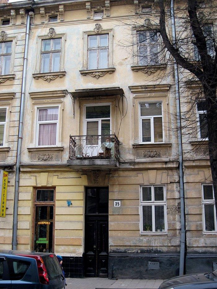 Будинок, в якому мешкав Я. Цурковський (по вул. К. Левицького, 35)