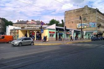 Винниківський (Личаківський) ринок. Сучасне фото