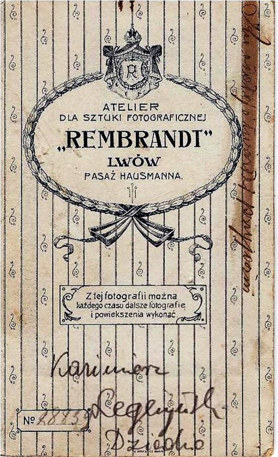 Бланк із фотоательє Мартіна Аппеля, в якому 3 вересня 1896 р. за допомогою вітаскопа відбувся перший кіносеанс у Львові. Він тривав декілька хвилин та демонструвався щоденно з 11 ранку до 21 години з перервою