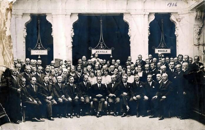 Працівники Банку Крайового, 1936р