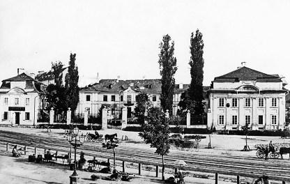 Палац Бесядецьких, фото кін. ХІХ ст.