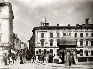 Вулиця Галицька, фото 1894 р.