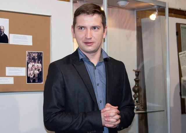 Науковий співробітник ЛМІР, куратор виставки Максим Мартин