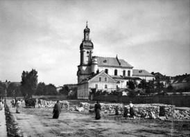 Ринок за огороджею по вул. Госєвського (Тершаківсців). Фото 1906-1910 рр.