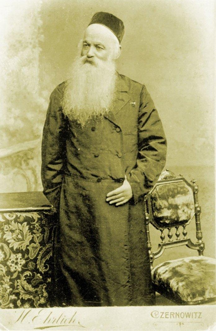 Беньямін Вайс – чернівецький рабин, дід М. Асада