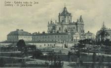 Вигляд площі св. Юра перед Першою світовою війною. Фото 1914 року