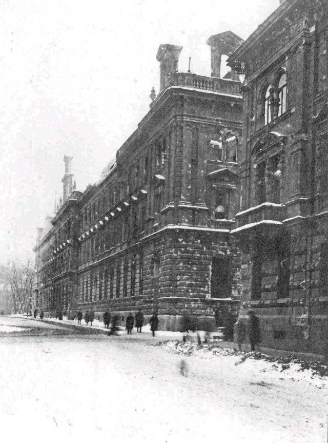 Головна пошта. Фото 1918р (власність фото Котлобулатова І.)