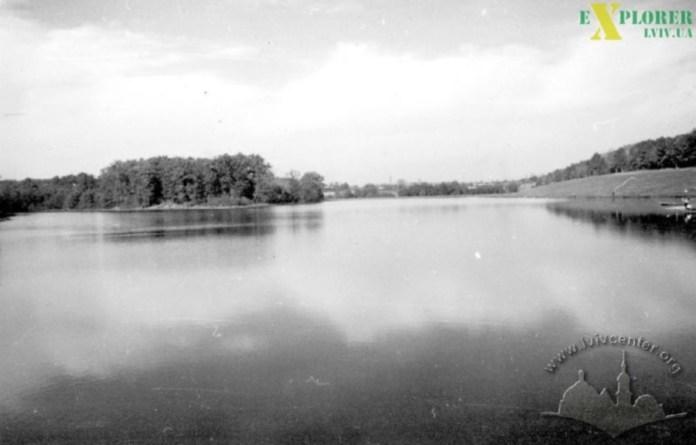 Піонерське озеро. Фото 1960-х рр.