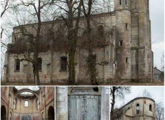 Унікальний неоготичний храм Святої Трійці, розташований поблизу Львова (відео)