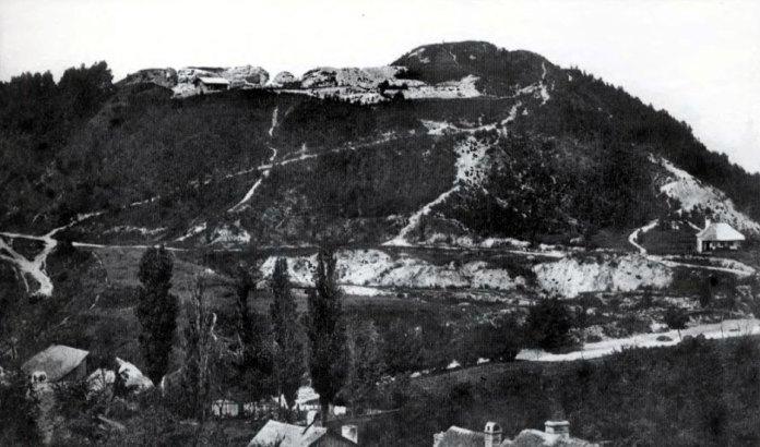 Замкова гора. Фото Юзефа Едера