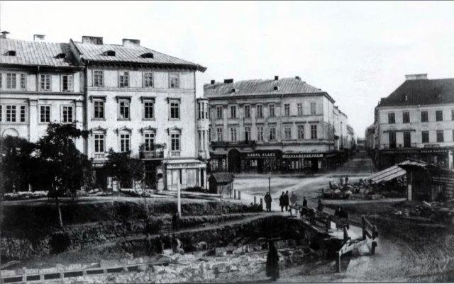 Площа Фердінанда. Фото Юзефа Едера