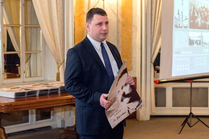 Автор та упорядник календаря Іван Матковський