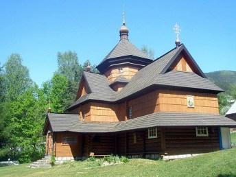 Церква Різдва Пресвятої Богородиці у с.Криворівня. Світлина Дарії Когутяк