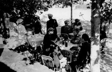 Літнє кафе на ринку Центральний. Фото 1964 року
