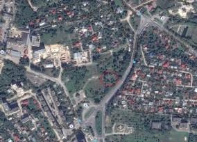 Розташування цвинтаря на Варшавській