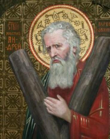 Митрополит Андрей. Фрагмент ікони з іконостаса церкви Святого Миколая в Золочеві