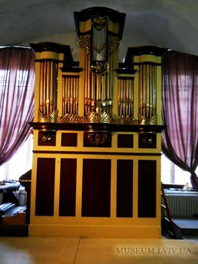 Сучасний вигляд органу із костелу св. Мартина