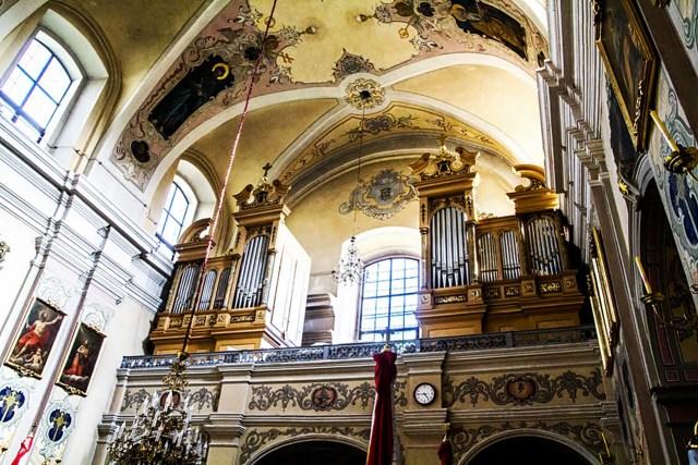 Орган костелу святого Антонія