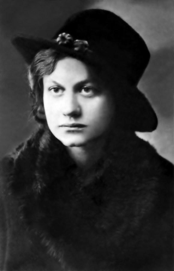 Ольга Плешкан: фотопортрет 1924 р.;