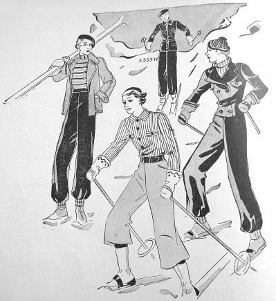 Лещатарська мода, 1935 р.